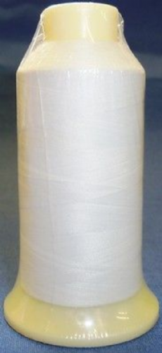 Marathon Embroidery & Sewing Machine Bobbin Thread 1000m White for Brother machines 60/2